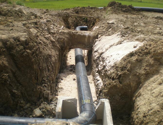 Sewage plant Lifting Menfi (AG)